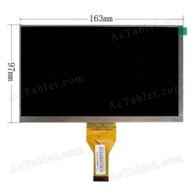 WY070ML757CP21B LCD Display Screen Replacement for 7 Inch Android Tablet PC