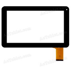 RAECE 0440-V03 Digitizer Glass Touch Screen Replacement for 9 Inch MID Tablet PC