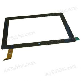 FPC-FC106J102-00 Digitizer Glass Touch Screen Replacement for 10.6 Inch MID Tablet PC
