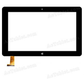FPC-FC106J017-00 Digitizer Glass Touch Screen Replacement for 10.6 Inch MID Tablet PC