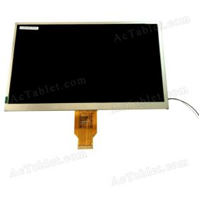 MF1011684001A LCD Display Screen Replacement for 10.1 Inch Android Tablet PC