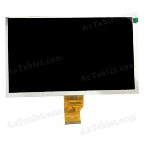 LCD Display Screen Replacement for Digital2 Deluxe II D2-962G Dual Core 9 Inch Tablet PC
