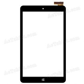 DX0190-080A Digitizer Glass Touch Screen Replacement for 8 Inch MID Tablet PC