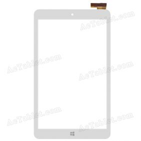 Digitizer Glass Touch Screen Panel for iRULU eXpro X1s IPS 8 Inch A64 Quad Core Tablet PC