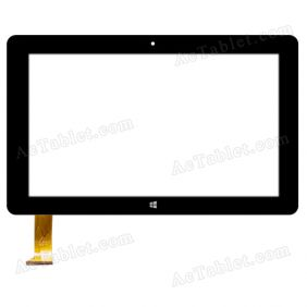 FPC-FC106J012-00 Digitizer Glass Touch Screen Replacement for 10.6 Inch MID Tablet PC