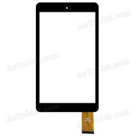 PB80JG2382 Digitizer Glass Touch Screen Replacement for 8 Inch MID Tablet PC