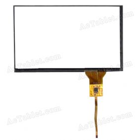 ZCC-2212 V1 FPC Digitizer Glass Touch Screen Replacement for Car GPS MID Tablet PC