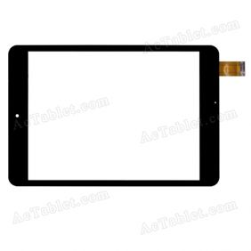 WGJ7361-V2 Digitizer Glass Touch Screen Replacement for 7.85 Inch MID Tablet PC