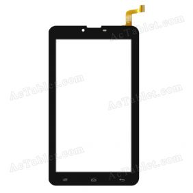HC184104T1 FPC053H V3.0 Digitizer Glass Touch Screen Replacement for 7 Inch MID Tablet PC