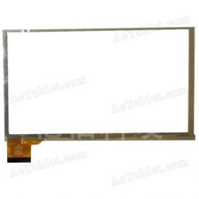 HOTATOUH HC165097A1 FPC V1 Digitizer Glass Touch Screen Replacement for 7 Inch MID Tablet PC