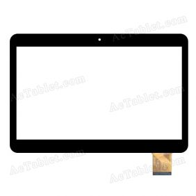MF-825-101F FPC Digitizer Glass Touch Screen Replacement for 10.1 Inch MID Tablet PC