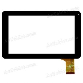 TPC0712 VER2.0 Digitizer Glass Touch Screen Replacement for 9 Inch MID Tablet PC