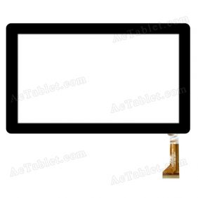 CZY6340C01-FPC Digitizer Glass Touch Screen Replacement for 7 Inch MID Tablet PC