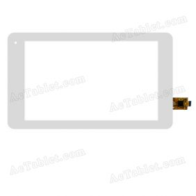 RS7F179PS_V1.3 Digitizer Glass Touch Screen Replacement for 7 Inch MID Tablet PC