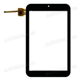 RS7F185_V1.0 Digitizer Glass Touch Screen Replacement for 7 Inch MID Tablet PC