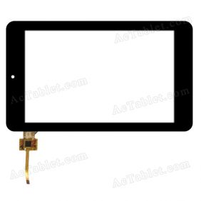 RS7F224_V3.2 Digitizer Glass Touch Screen Replacement for 7 Inch MID Tablet PC