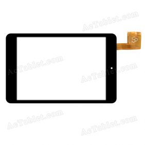 RS8F615G_V1.0 Digitizer Glass Touch Screen Replacement for 8 Inch MID Tablet PC