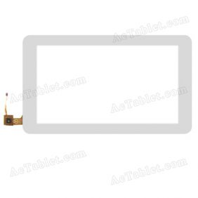 RS10F673P_V1.0 Digitizer Glass Touch Screen Replacement for 10.1 Inch MID Tablet PC