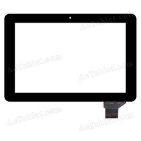 YTG-P10005-F8 Digitizer Glass Touch Screen Replacement for 10.1 Inch MID Tablet PC