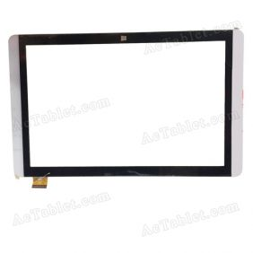 PB101A2512 FHX Digitizer Glass Touch Screen Replacement for 10.1 Inch MID Tablet PC