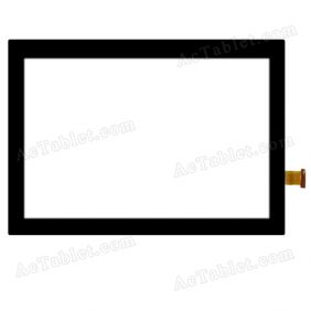FPC-UP0902811-V03 FHX Digitizer Glass Touch Screen Replacement for 9 Inch MID Tablet PC