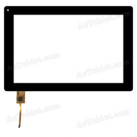 RS10F534G2_V1.1 Digitizer Glass Touch Screen Replacement for 10.1 Inch MID Tablet PC