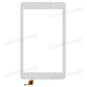 PB80JG2039 Digitizer Glass Touch Screen Replacement for 8 Inch MID Tablet PC