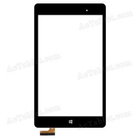 PB80JG2420 Digitizer Glass Touch Screen Replacement for 8 Inch MID Tablet PC