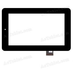 070258-01A-V2 Digitizer Glass Touch Screen Replacement for 7 Inch MID Tablet PC