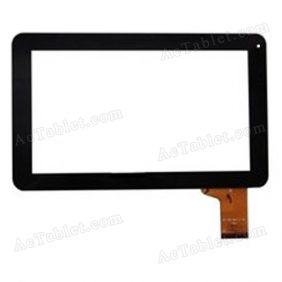 DX0068-090A Digitizer Glass Touch Screen Replacement for 9 Inch MID Tablet PC