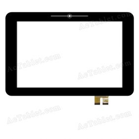 20130921C Digitizer Glass Touch Screen Replacement for 10.1 Inch MID Tablet PC