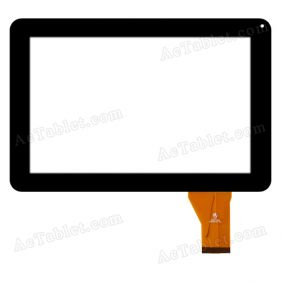 HK90DR2792-V01 Digitizer Glass Touch Screen Replacement for 9 Inch MID Tablet PC