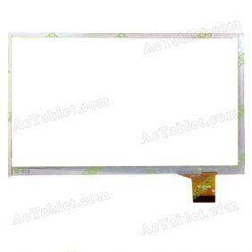 MF-761-070F Digitizer Glass Touch Screen Replacement for 7 Inch MID Tablet PC