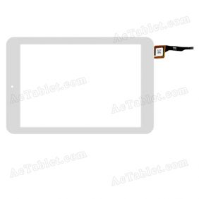 PB80JG2928 Digitizer Glass Touch Screen Replacement for 8 Inch MID Tablet PC