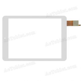 PB97JG2690 Digitizer Glass Touch Screen Replacement for 9.7 Inch MID Tablet PC