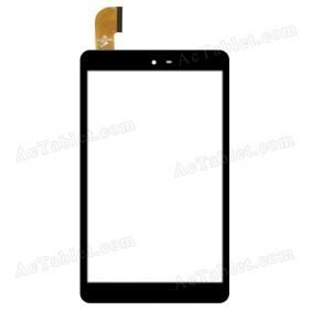 PB80JG2530-R1 Digitizer Glass Touch Screen Replacement for 8 Inch MID Tablet PC