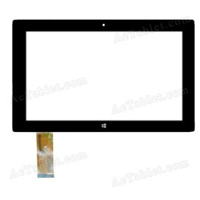 PB101JG2502 Digitizer Glass Touch Screen Replacement for 10.1 Inch MID Tablet PC