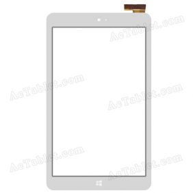 BTM-J8113-FPC-A Digitizer Glass Touch Screen Replacement for 8 Inch MID Tablet PC
