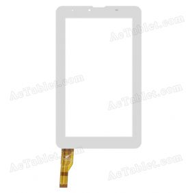 PB70JG1095-R1 Digitizer Glass Touch Screen Replacement for 7 Inch MID Tablet PC