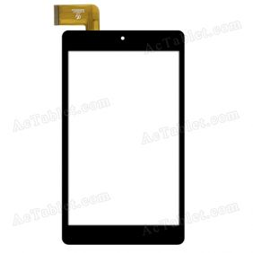 HK80DR2536 Digitizer Glass Touch Screen Replacement for 8 Inch MID Tablet PC