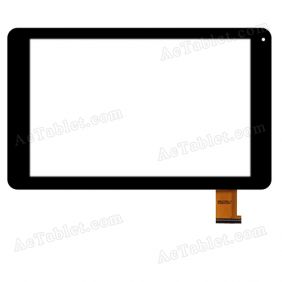 SG6179-FPC_V1-1 Digitizer Glass Touch Screen Replacement for 10.1 Inch MID Tablet PC