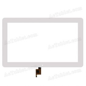 Digitizer Touch Screen Replacement for Teclast X16 Plus Intel X5 Windows 10.6 Inch Tablet PC