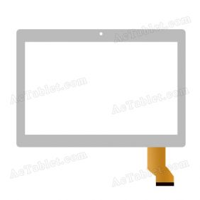 MF-835-101F Digitizer Glass Touch Screen Replacement for 10.1 Inch MID Tablet PC