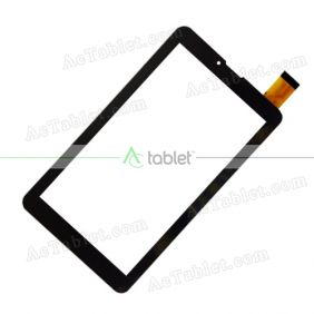 FHF70076 Digitizer Glass Touch Screen Replacement for 7 Inch MID Tablet PC