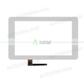 MCF-070-1191-V1 Digitizer Glass Touch Screen Replacement for 7 Inch MID Tablet PC