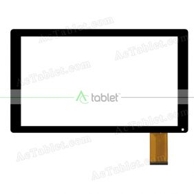 F-WGJ10186-V1 Digitizer Glass Touch Screen Replacement for 10.1 Inch MID Tablet PC