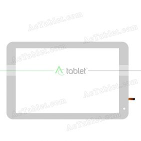 F-WGJ10260-V1 Digitizer Glass Touch Screen Replacement for 10.1 Inch MID Tablet PC
