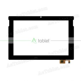 F-WGJ10335-V1 001 Digitizer Glass Touch Screen Replacement for 10.1 Inch MID Tablet PC