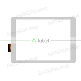 10112-0A5233B MHS Digitizer Glass Touch Screen Replacement for 10.1 Inch MID Tablet PC
