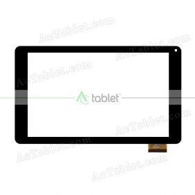 QX20150715 HK90DR2598 Digitizer Glass Touch Screen Replacement for 9 Inch MID Tablet PC